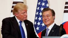 Trump to press South Korea's Moon before summit with North
