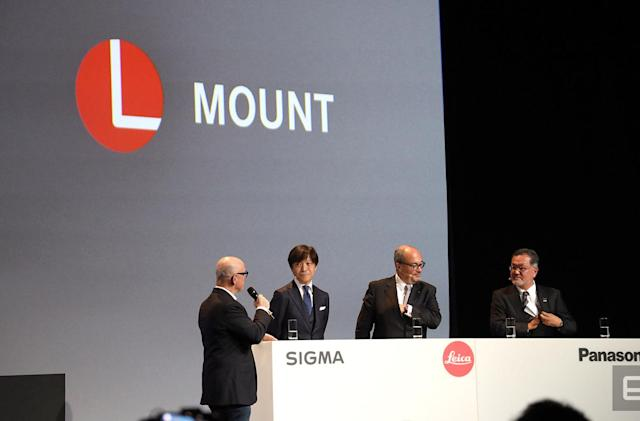 Panasonic, Leica and Sigma unveil the L-Mount mirrorless alliance