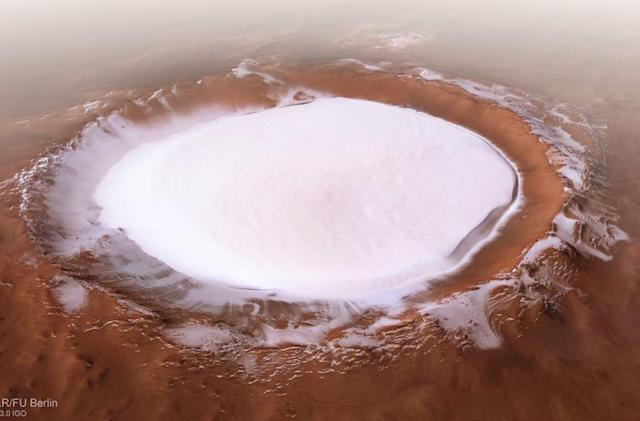 NASA finds 'water ice' just below the surface of Mars