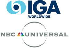 NBC Universal teams with IGA for in-game ad blitz