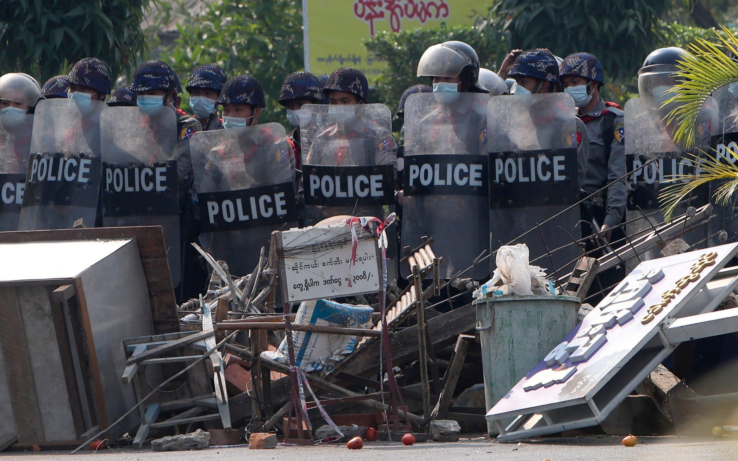 Myanmar policemen cross border into India after refusing to carry out orders set by new military junta