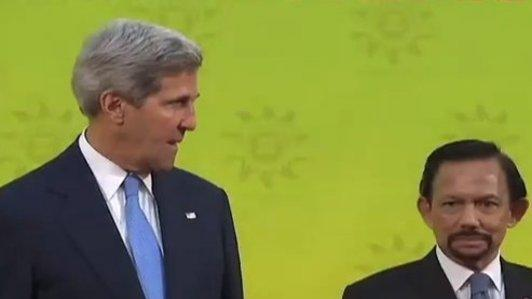 Kerry Deputises for Obama at ASEAN Summit