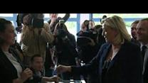 Le Pen, Royal vote in French elections
