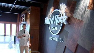 Exclusive KITV.com Tour The New Hard Rock Cafe