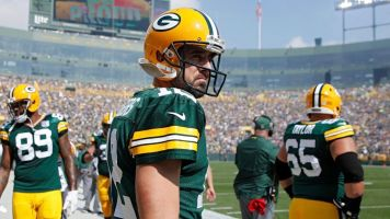 Rodgers says roughing calls 'are not penalties'