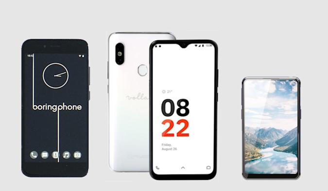 Independent phones.