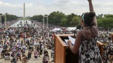 Tras enorme mitin, llaman a afroestadounidenses a votar