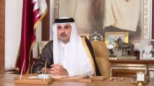 Qatar's ruler says time to resolve differences in talks