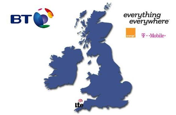 BT and Everything Everywhere will start LTE trial in rural UK this September