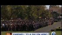 Funeral service held for Ofc. O'Rourke