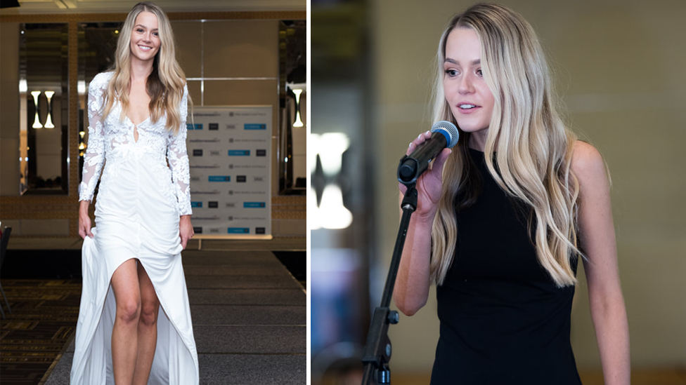 Inside The Bachelor finalist Helena Sauzier's Miss World audition