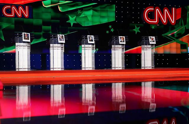 Google grants presidential hopefuls a digital podium