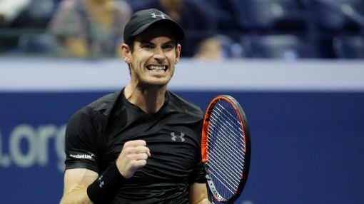 Andy Murray into US Open second round