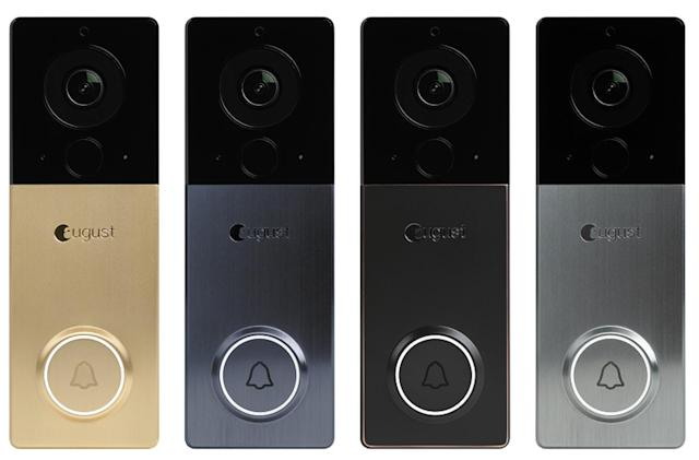 August's new battery-powered smart doorbell has a 1440p camera