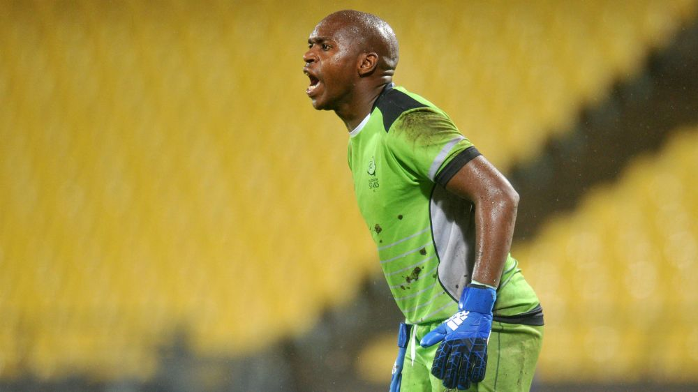 Goalkeeper Mzimela scores twice to give Platinum Stars victory