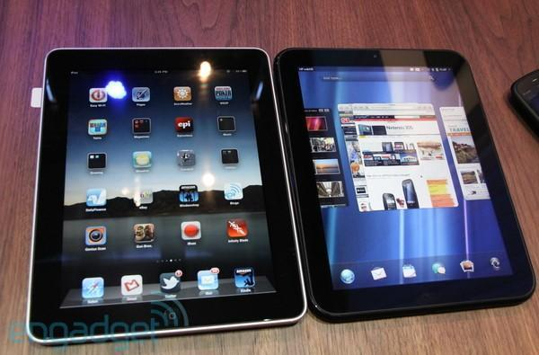 iPad vs. TouchPad... Fight!