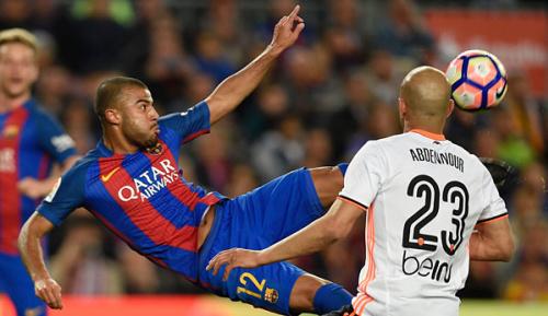 Primera Division: Barca im Kampf ums Triple ohne Rafinha