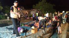 Taiwan train crash kills 18 in deadliest rail tragedy in decades