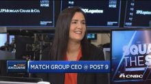 Match Group CEO: The stigma against dating apps is eroding