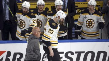 Bruins dealt with boatload of injuries in Game 7