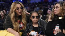 Blue Ivy took an $1,800 Louis Vuitton purse and Beyoncé to the NBA All-Star Game