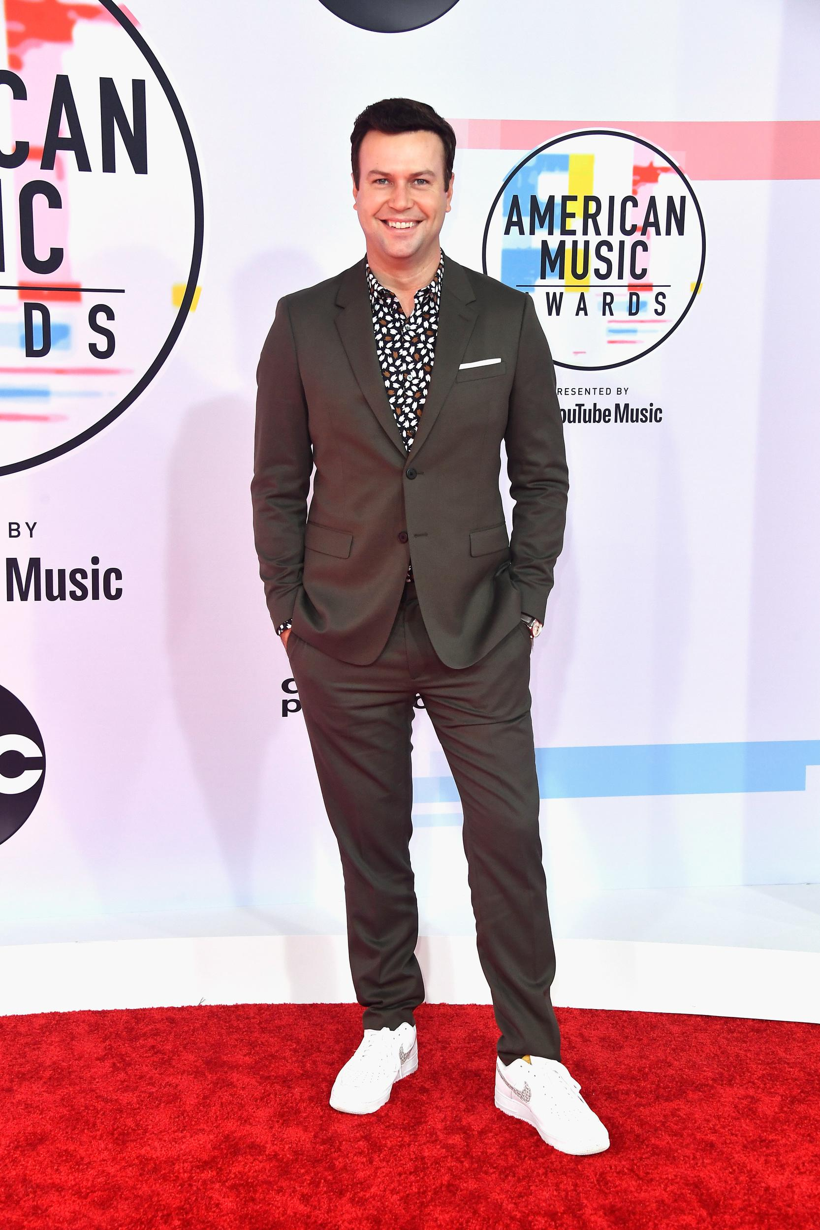 LOS ANGELES, CA - OCTOBER 09:  Taran Killam attends the 2018 American Music Awards at Microsoft Theater on October 9, 2018 in Los Angeles, California.  (Photo by Frazer Harrison/Getty Images)