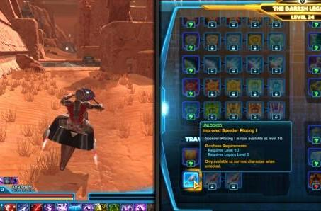 Details unveiled about Star Wars: The Old Republic's Legacy Perks