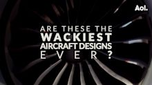 Weird and wacky plane designs of the future