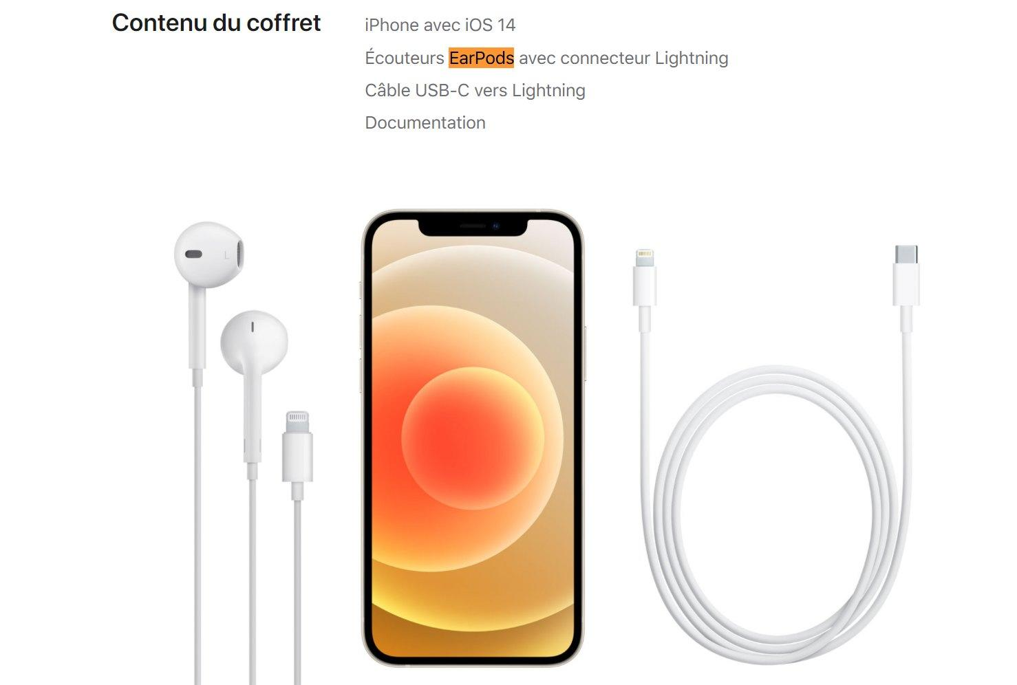 Apple's iPhone 12 comes with EarPods in France because of radiation laws | Engadget