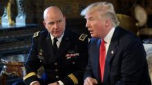 HR McMaster to publish book that may pose headaches for Trump