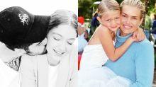 Gigi Hadid 22 歲生日又放閃!快來看看她從小到大的成長片段吧!