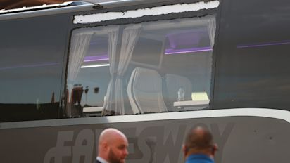 Merseyside Police investigating after Real Madrid bus window smashed