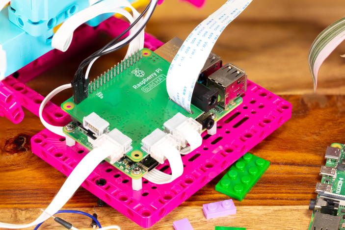 Raspberry Pi's Build HAT helps students build LEGO robots