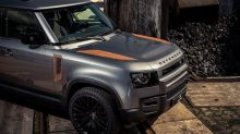 Want your new Land Rover Defender to look old and rusty? There's a fix for that