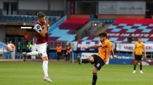 Wolves concedes late equalizer at Burnley to damage CL hopes