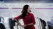 Flight Attendant Shares BTS Photos of Airline Life