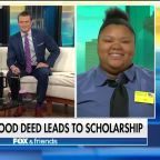 Waffle House employee gets scholarship after act of kindness