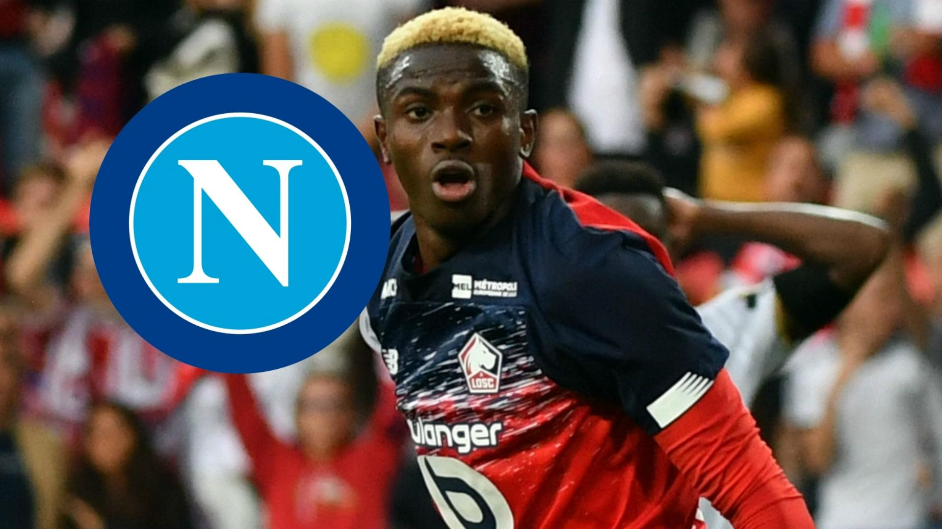 Amuneke, Finidi George and Sodje advise Osimhen after sealing €50 million Napoli move
