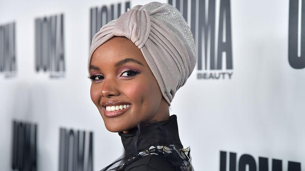 Trailblazing model Halima Aden attending Australian Fashion Week