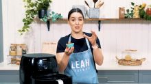 Leah Itsines' air fryer banana and blueberry muffins recipe