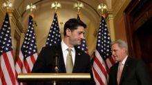 House passes short-term spending bill, Senate fight erupts