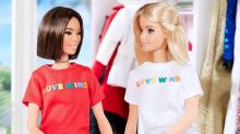 Barbie wears 'Love Wins' T-shirt to support LGBT rights