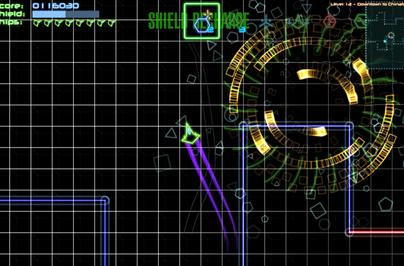 Freeverse's Neon Tango continues the shape shooter tradition