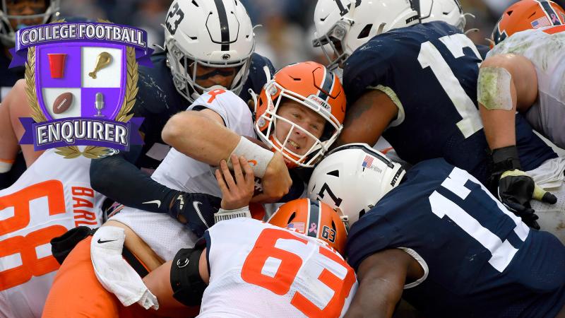 Week 8 Overreaction: Pitt races past Clemson, Illinois at PSU OT... thriller?