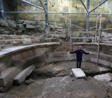 Israel uncovers Roman structure at foot of Jerusalem's Western Wall