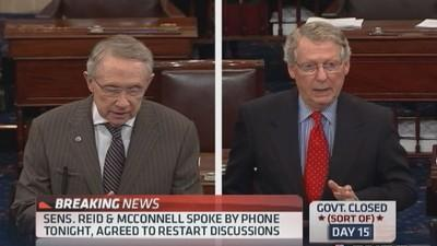 Budget discussions moved to Senate: NBC News
