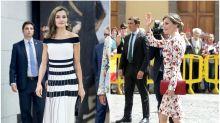 Letizia reina entre las mejor vestidas de 2017