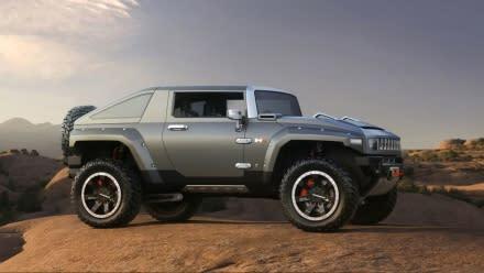GM's Hummer HX: where Halo and E85 meet