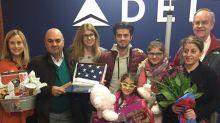 Connie Britton Helps Welcome Kurdish Refugee Family to Nashville