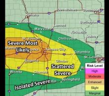 Kansas City region faces 'enhanced risk' with severe storms, possible hail rolling in